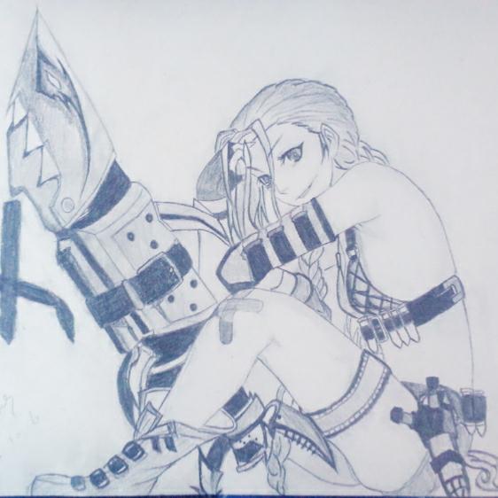 15-10-06     #手绘铅笔画#金克斯第二弹