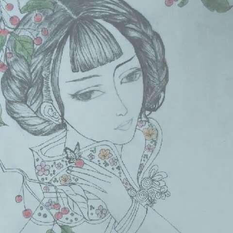 画画##绘画过程##手绘彩铅画#新手画画