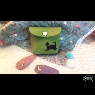 小黑猫零钱包