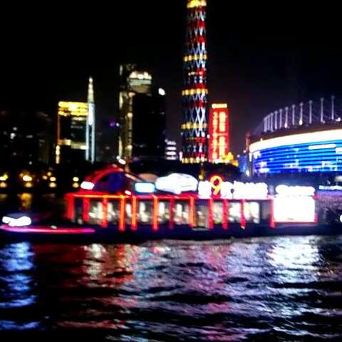 广州塔小蛮腰#珠江夜景