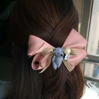 韩国小熊发饰