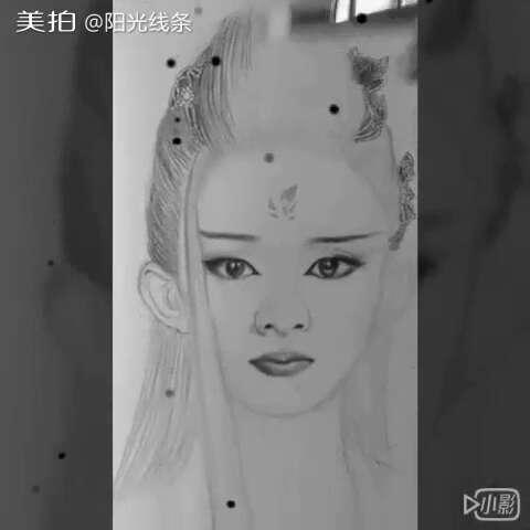 画画##手绘彩铅画