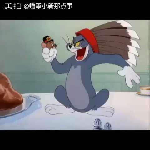 猫和老鼠-称职的看门鼠07#猫和老鼠##我要上热门##搞笑##动画片##经典图片