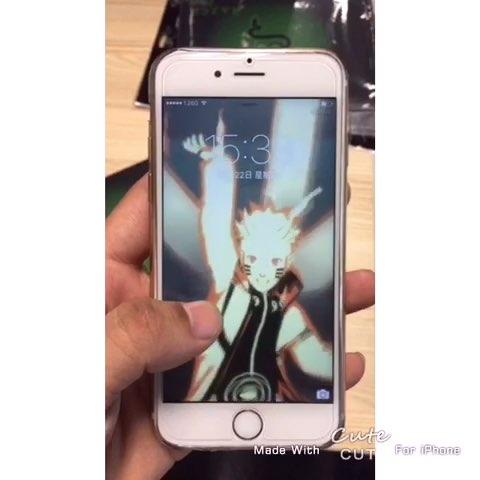 超炫酷iphone live photo自定义 锁屏动态壁纸 - 虽小图片