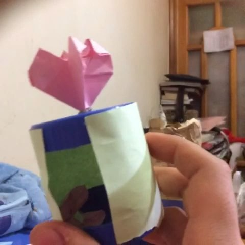 瓶盖小房子,#手工折纸教程#