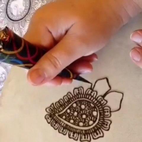 印度海娜手绘#练习