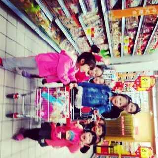 #在超市常干的事#