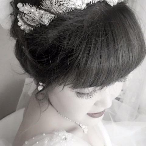 鲜花新娘# 出炉啦 @化妆师杨洁图片