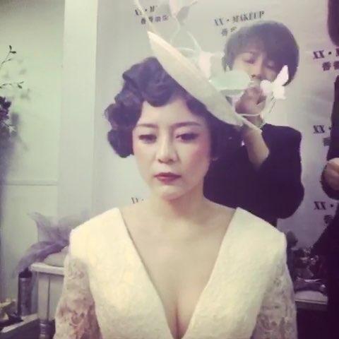 欧式 复古 妆面 造型 #时尚美妆图片