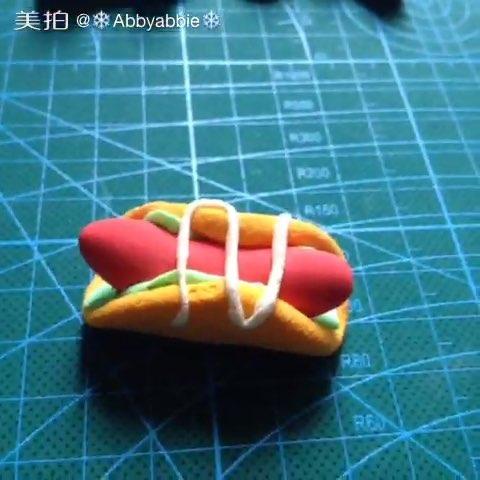 幼儿园粘土饺子