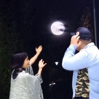 随手变月亮
