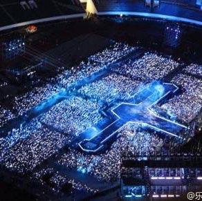 属于成都的银海 #exo##exo成都演唱会图片