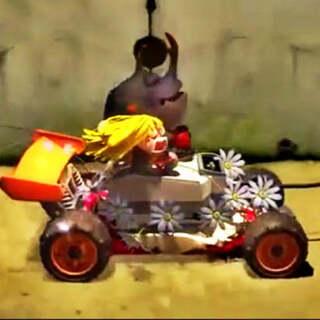 碉堡的玩具车