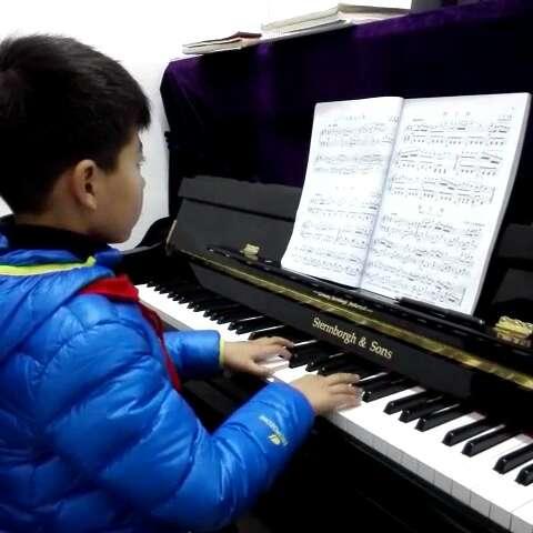 钢琴 彦 .《沂蒙山小调》
