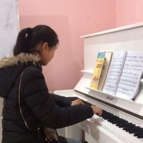 音乐#《牧民歌唱毛主席》#我要上热门##钢琴##钢琴课