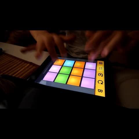 drumpads24单手谱子
