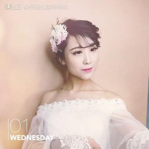 岳阳化妆师##美妆时尚##韩式新娘造型##新娘跟妆#在这寒冷的冬天,来