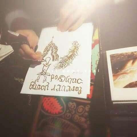 西安海娜手绘纹身##西安印度海娜手绘#999999
