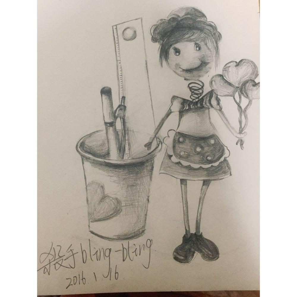 图片大全可爱女生动漫,动漫画图片可爱女生,铅笔漫画大全图片可爱