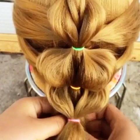 随性#送给长头发的你#编发教程##简单编发