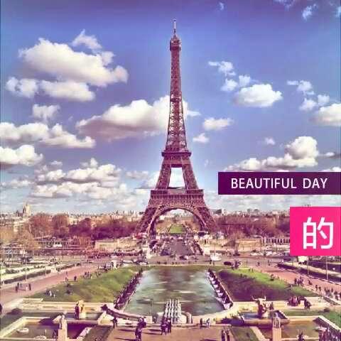 巴黎埃菲尔铁塔#78 - 雨中的好姐妹的美拍