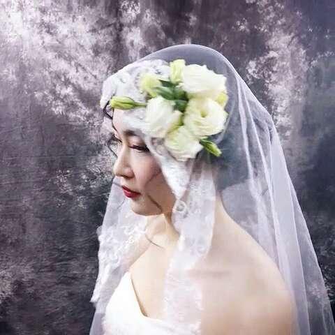 欧美新娘造型##欧式新娘盘发##美妆时尚图片