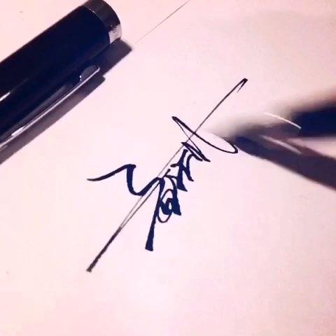 花样签名设计##欧阳金湖签名设计##直播写作业