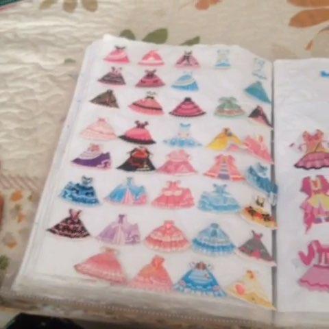 我的贴画本