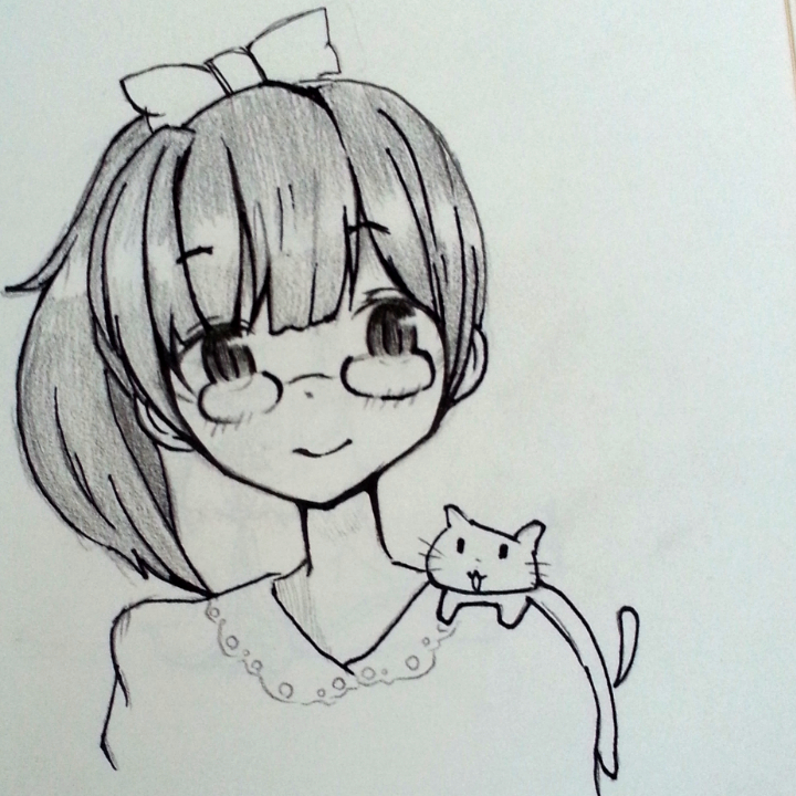 手绘画##手绘彩铅画##随手画##随便画画