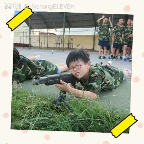 最帅兵哥哥#短发女生杨甲哲的军事夏令营#宝宝成长
