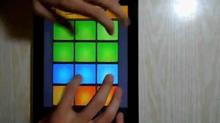 姜油drumpads24彩色谱子