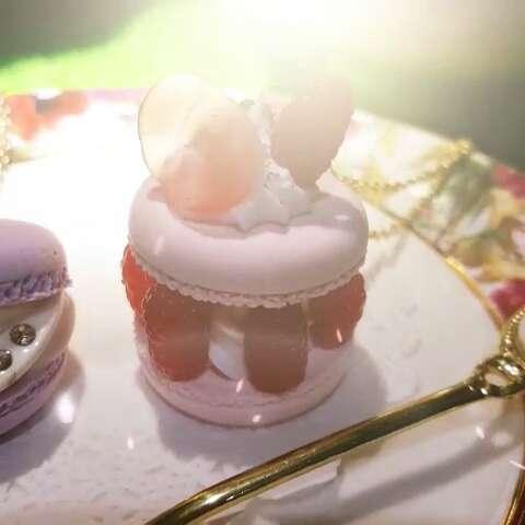 超轻粘土欧式甜点复杂