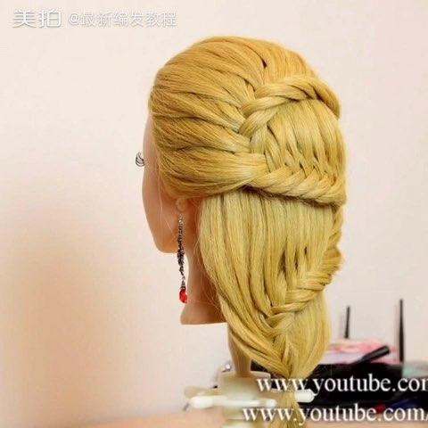 儿童发型发型扎法教程