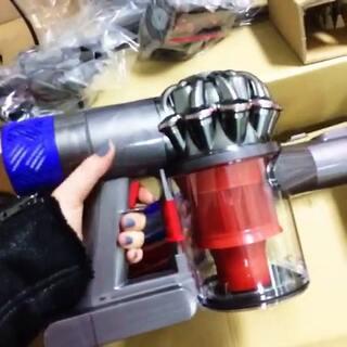 戴森 无线吸尘器…新玩具开箱!
