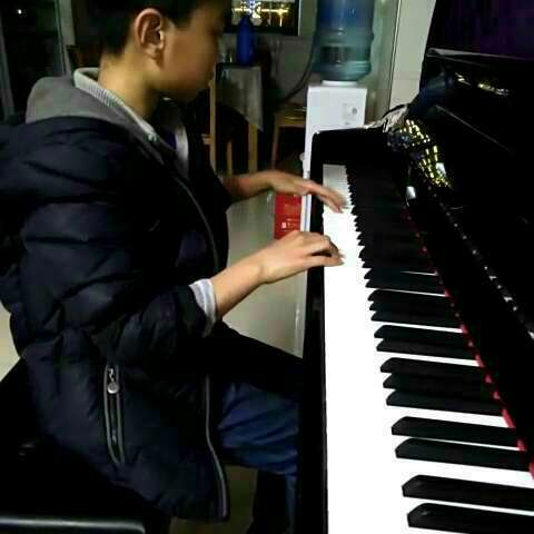 #图片##童年的回忆##音乐#-彡药的美拍初中生的钢琴画树图片