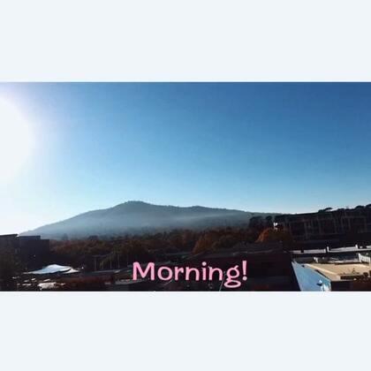 #美拍大师##早安#清晨的安斯利山~早!PS.竟然忘记找平了……