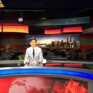 第一次当新闻主播,我发现我的天赋有点高哦😜