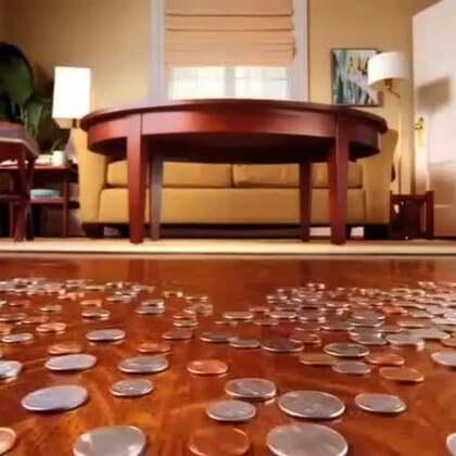 #涨姿势#创意视频《离家出走的硬币》,说好的套路呢?