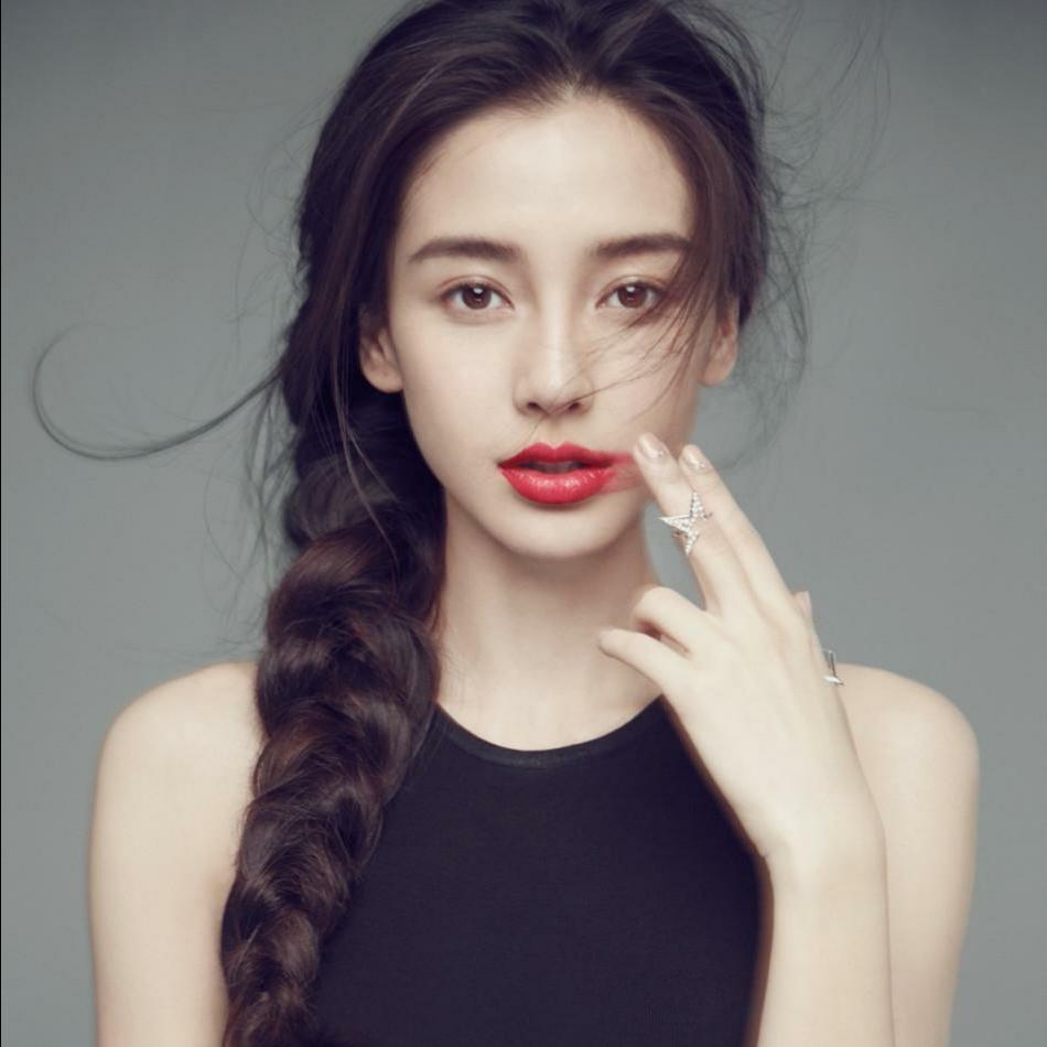 杨颖古装手绘美图