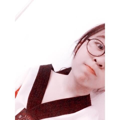 嘎嘎嘎嘎小白带学跆拳道的小姑娘#随手美拍#余姚女生视频v女生图片