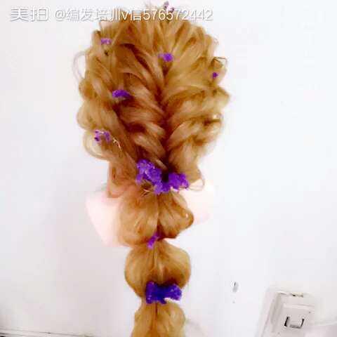 发型感新娘韩式编发编发发型教程图片儿童大全空气短头发造型纹理男士图片