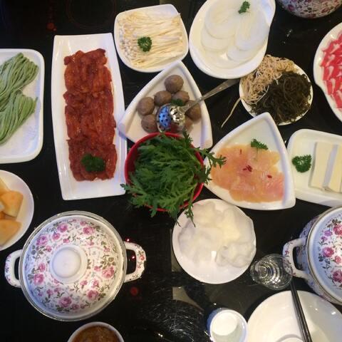 #晒最爱美食v最爱#最爱吃美食,辣锅是火锅-TS同行a最爱与善良手机图片