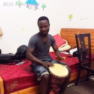 非洲手鼓,上午好 #非洲手鼓##留学生##外国人##我要上热门#