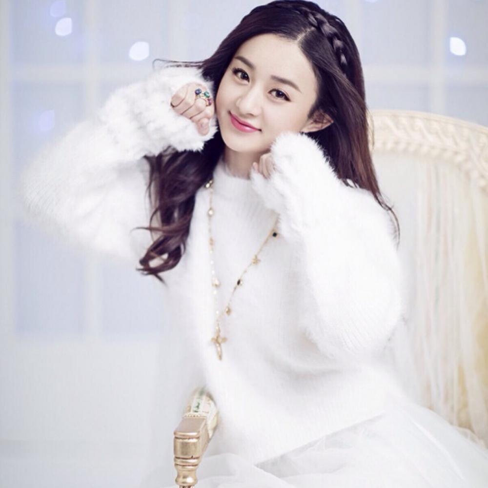 萌萌哒赵丽颖    图片