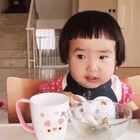 存货。拍于9月4日,晚餐。那时#小蛮一岁八个月##可爱吃货小萌妞##吃货小蛮#