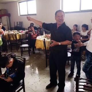 #河北#laolao九十大寿,全家近七十人到场,四世同堂,表爷爷随机致辞😎👏🏻👍🏻