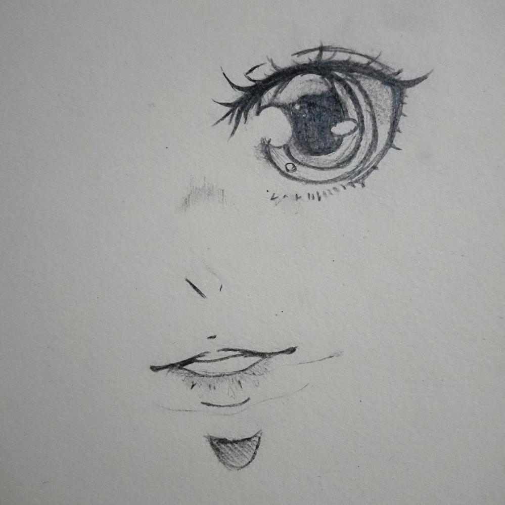 40                       美术课画的眼睛#眼睛# #画画# #手绘铅笔画