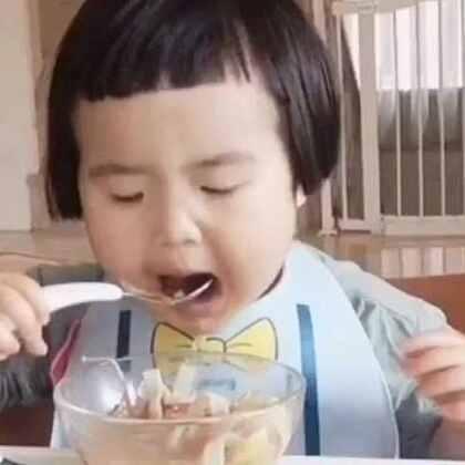 早餐,面条。#可爱吃货小萌妞##吃货小蛮##小蛮一岁11个月#