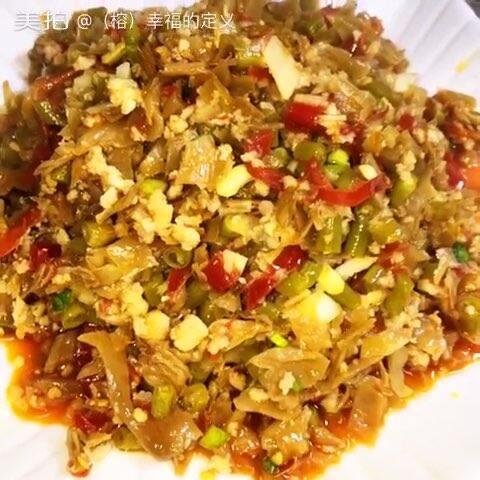 煮面白菜。臊子有:腌豇豆、泡材料;泡椒、泡姜视频搜安卓图片