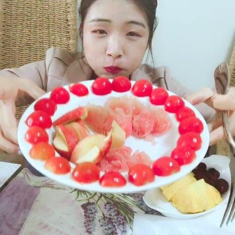 直播吃水果##吃秀##美食##热门#我今天用的新西兰的Km ...